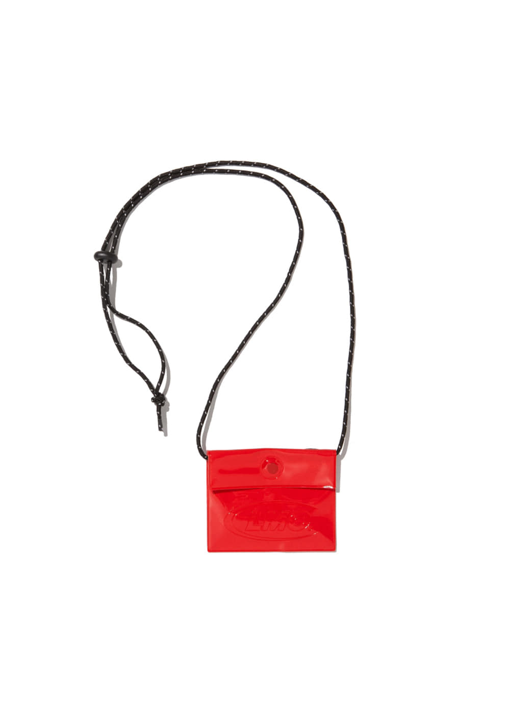 LMC PVC COIN POUCH red