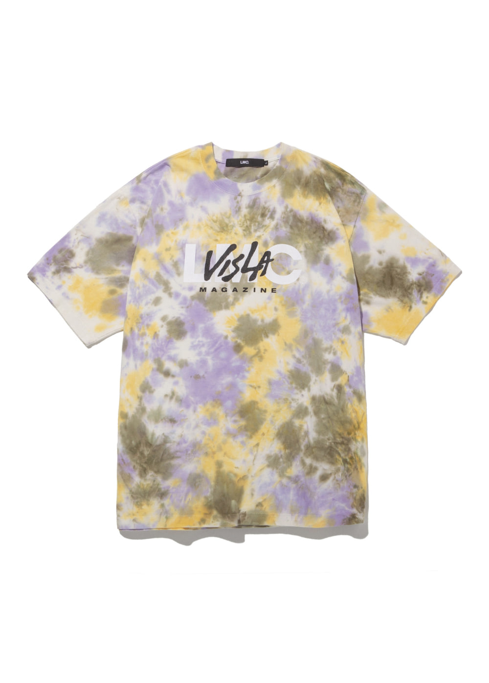LMC x VISLA NIGHTHAWKS WATER DYED TEE yellow
