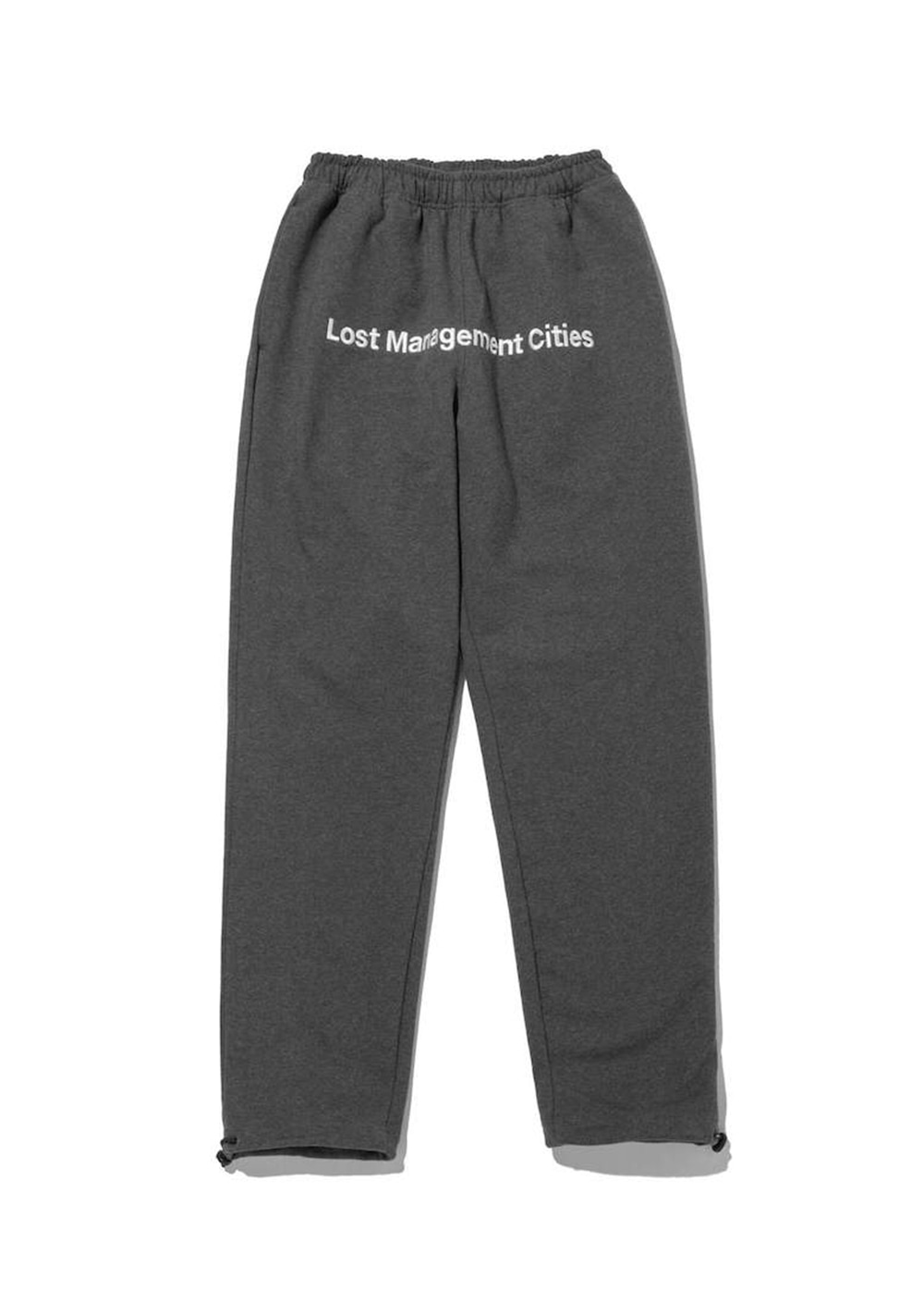 LMC FRONT LOGO SWEAT PANTS charcoal