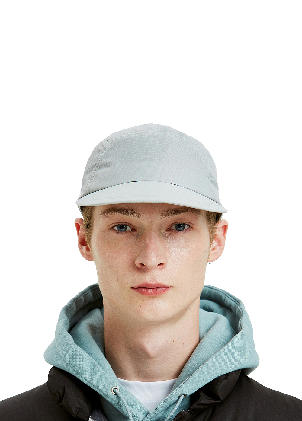 RIPSTOP CAMP CAP lt. gray