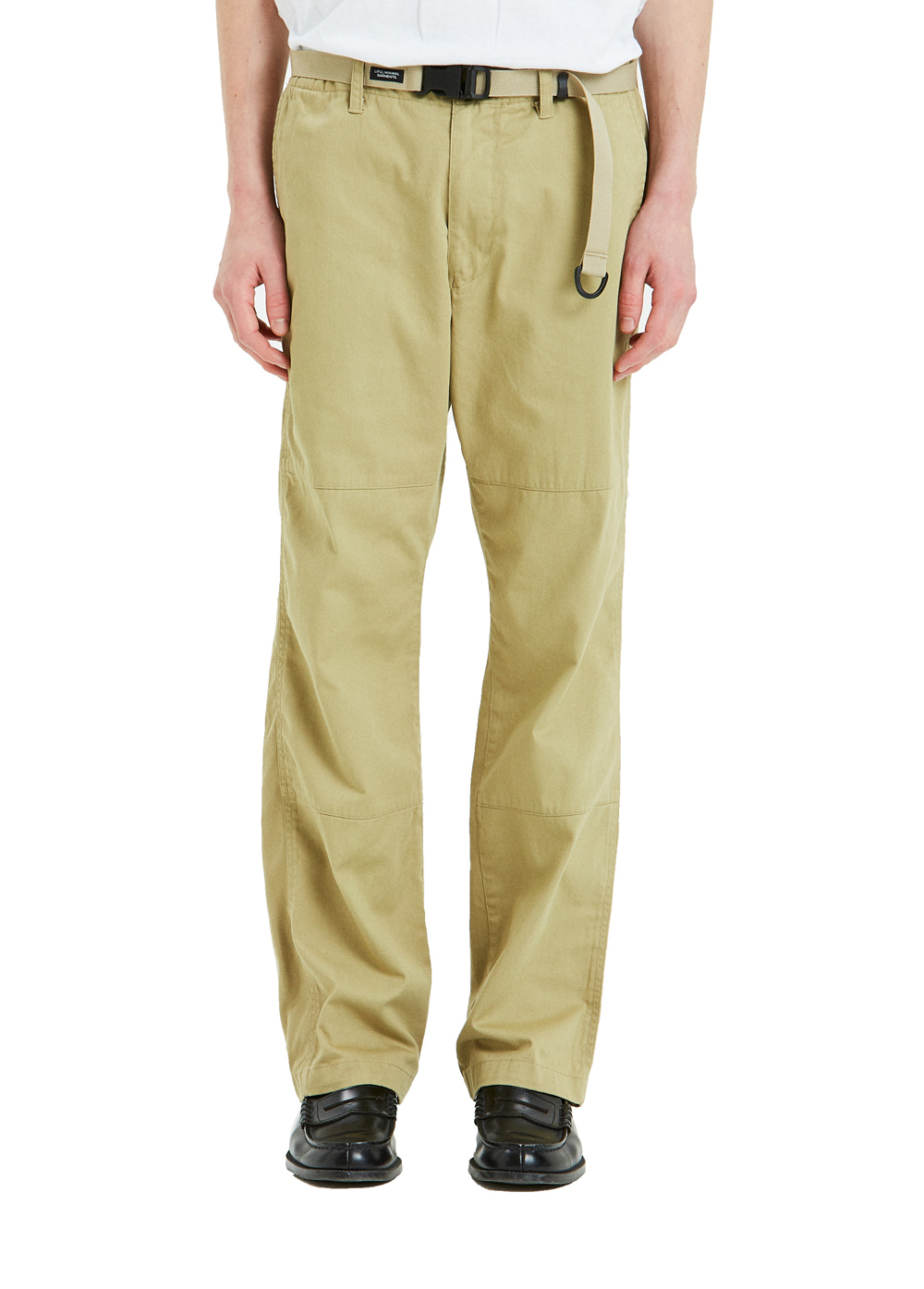 COTTON WORK PANTS beige