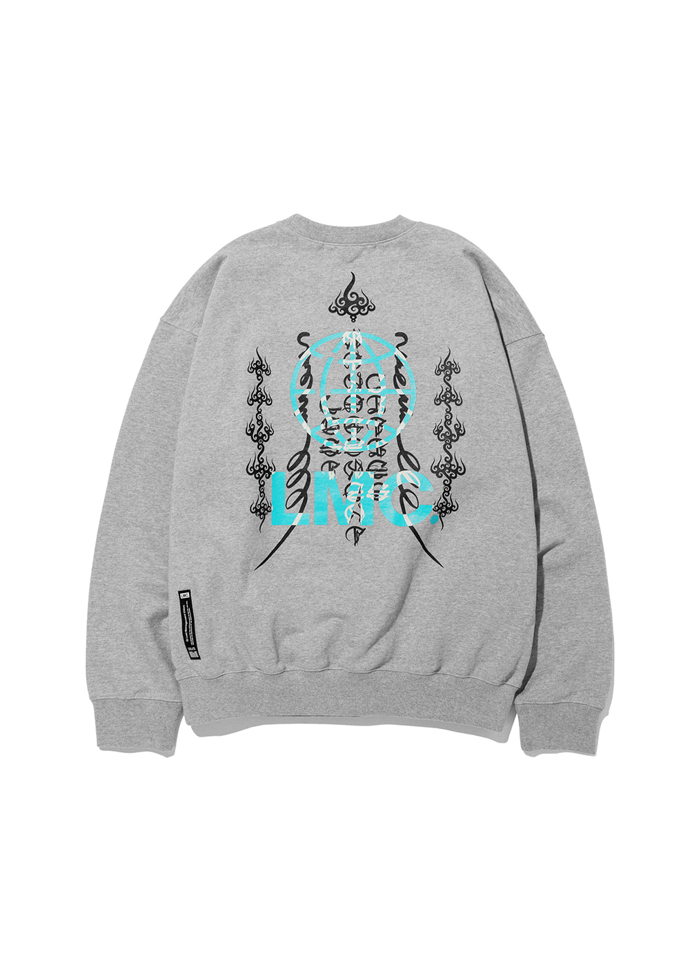 LMC FOR JODAE OVERSIZED SWEATSHIRT heather gray