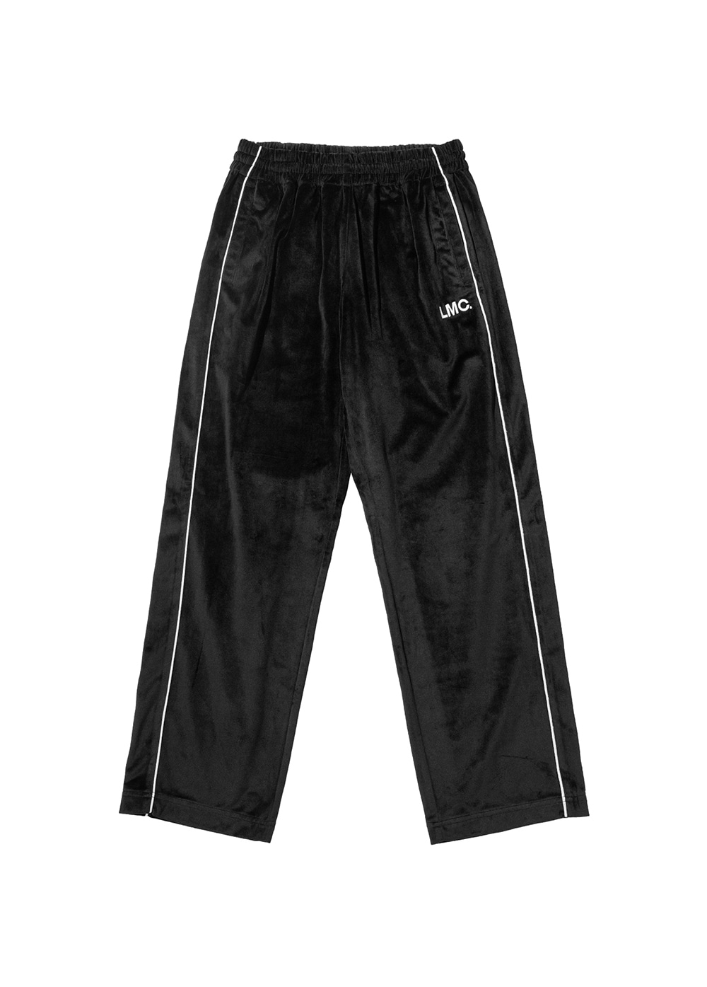 LMC VELOUR TRACK PANTS black
