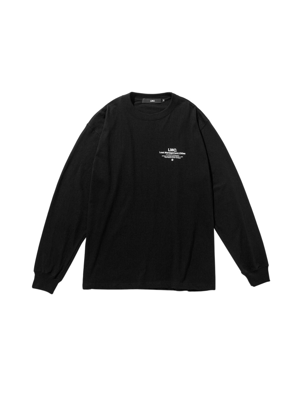 LMC INFLUENCER LONG SLV TEE black