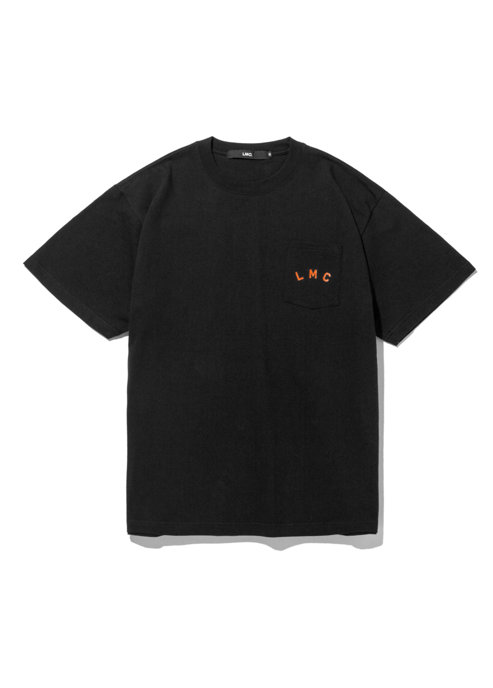 LMC RED LABEL POCKET TEE black