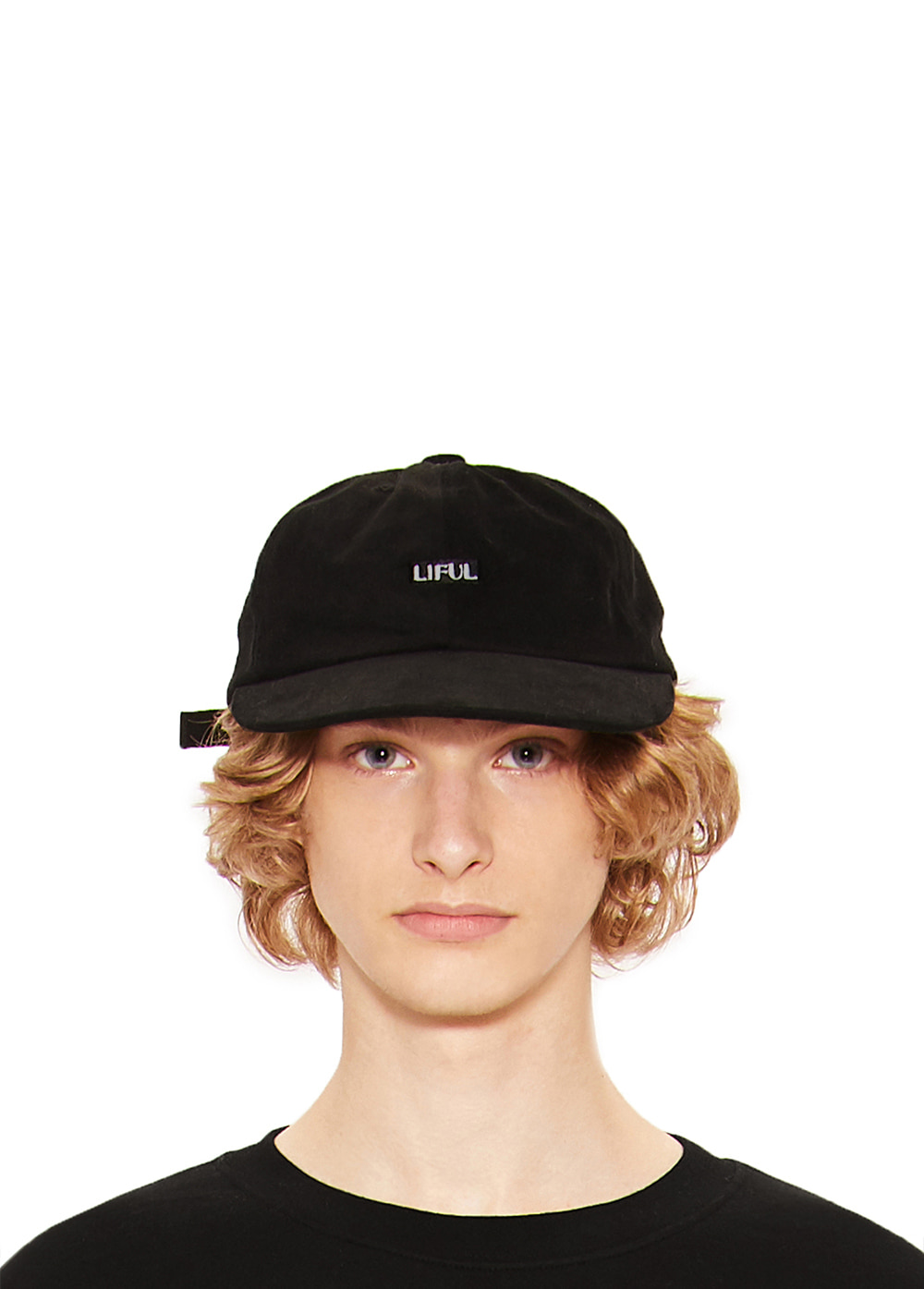 BOX LOGO 6 PANEL CAP black