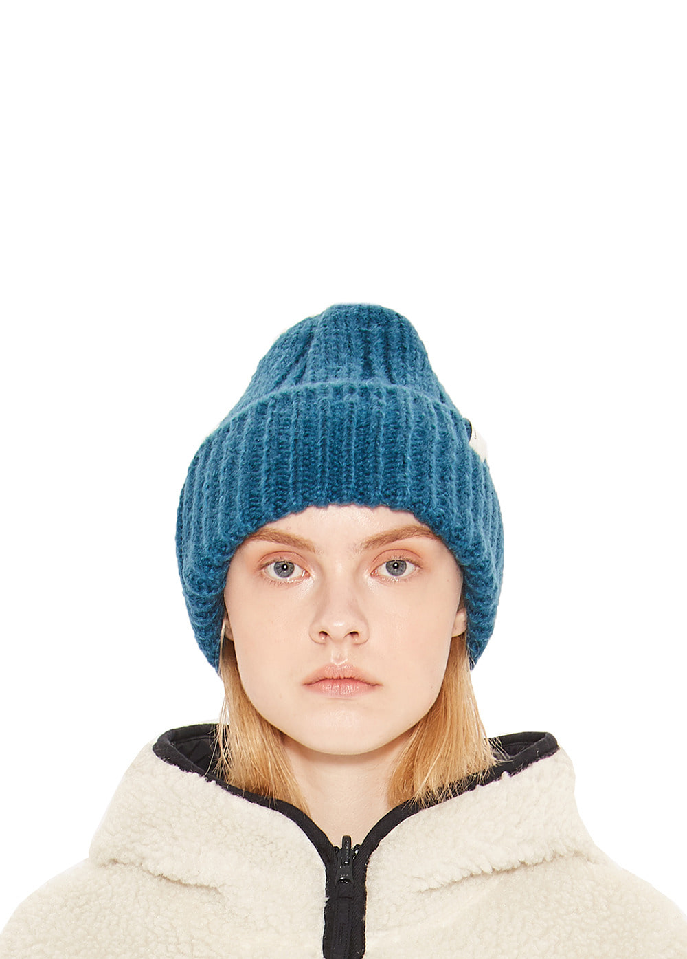 OVERSIZE BEANIE teal green