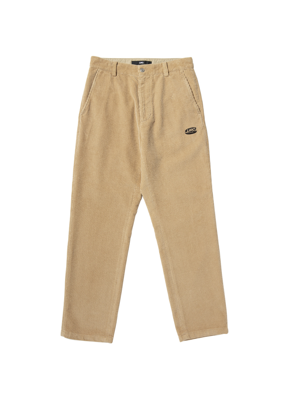 LMC CORDUROY PANTS yellow brown