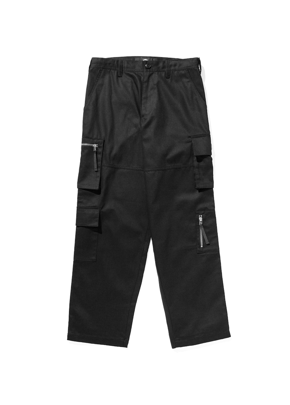 LMC ZIPPER CARGO PANTS black
