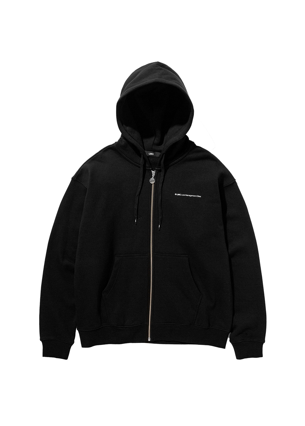 LMC FN ZIP-UP HOODIE black