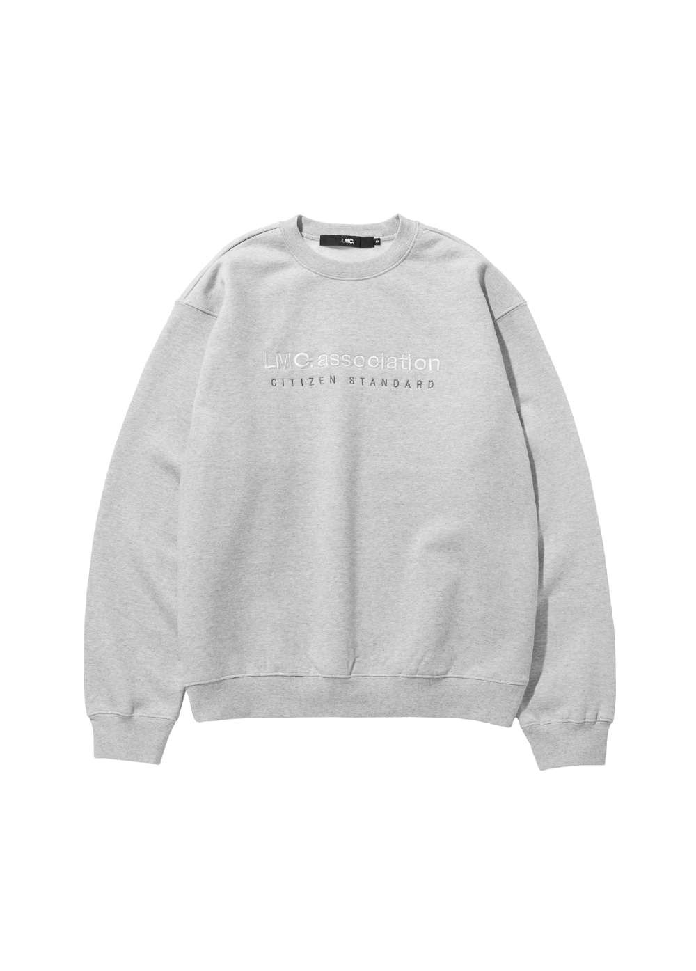 LMC ASSOCIATION EMB SWEATSHIRT heather gray
