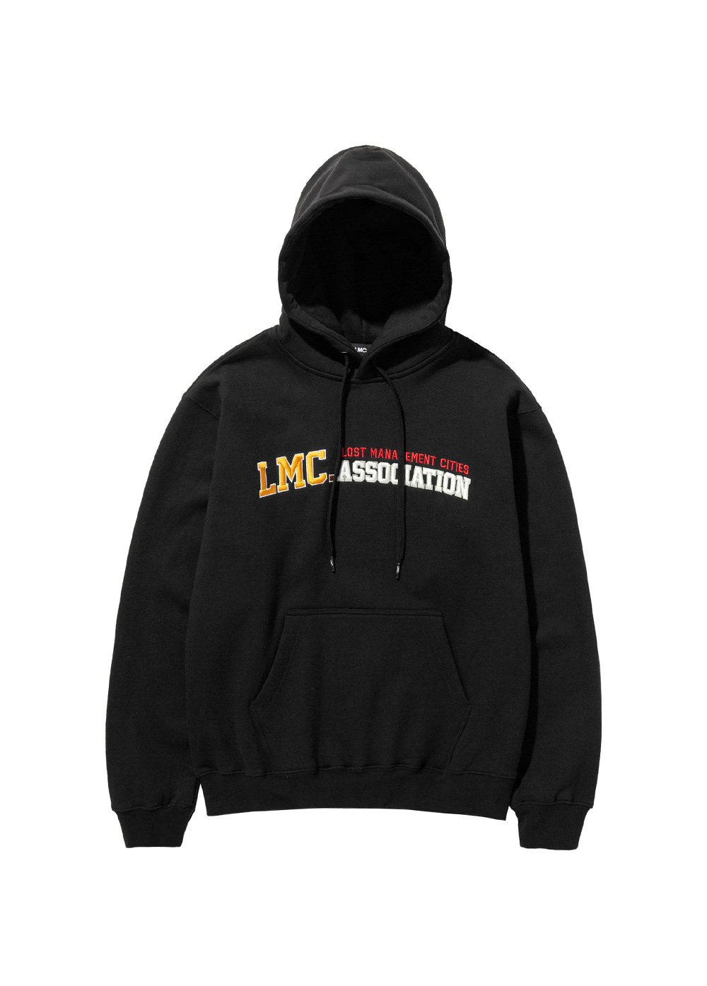 LMC ATHLETIC EMB HOODIE black