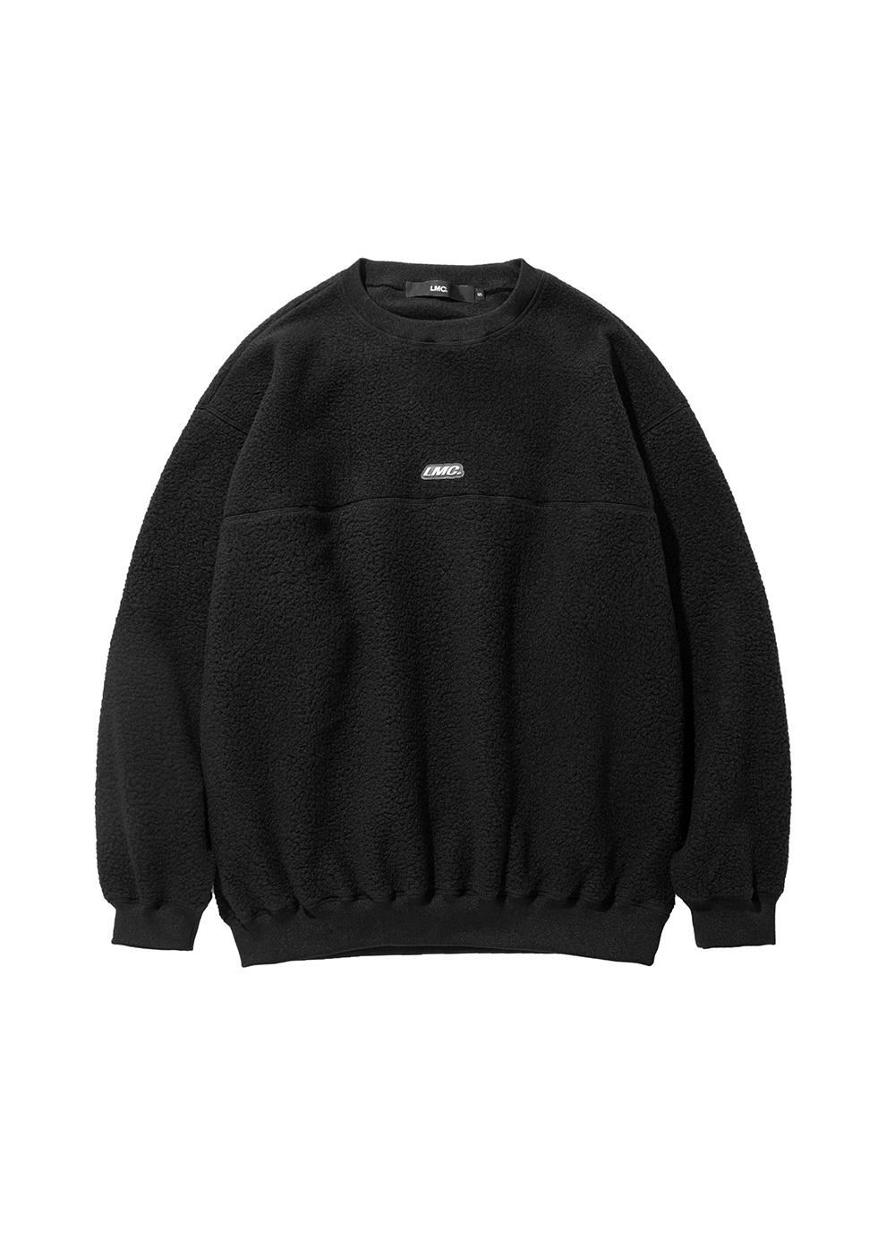 LMC BOA FLEECE OVERSIZED SWEATSHIRT black
