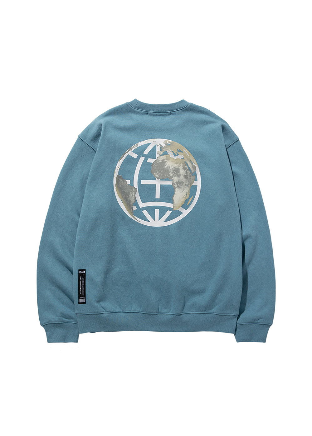LMC EARTH LOGO SWEATSHIRT sky blue