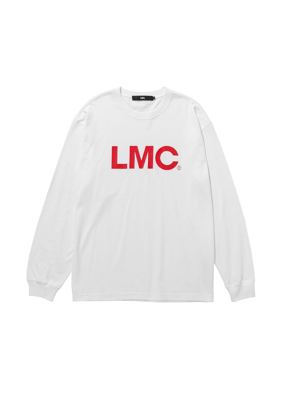 LMC OG LONG SLV TEE white