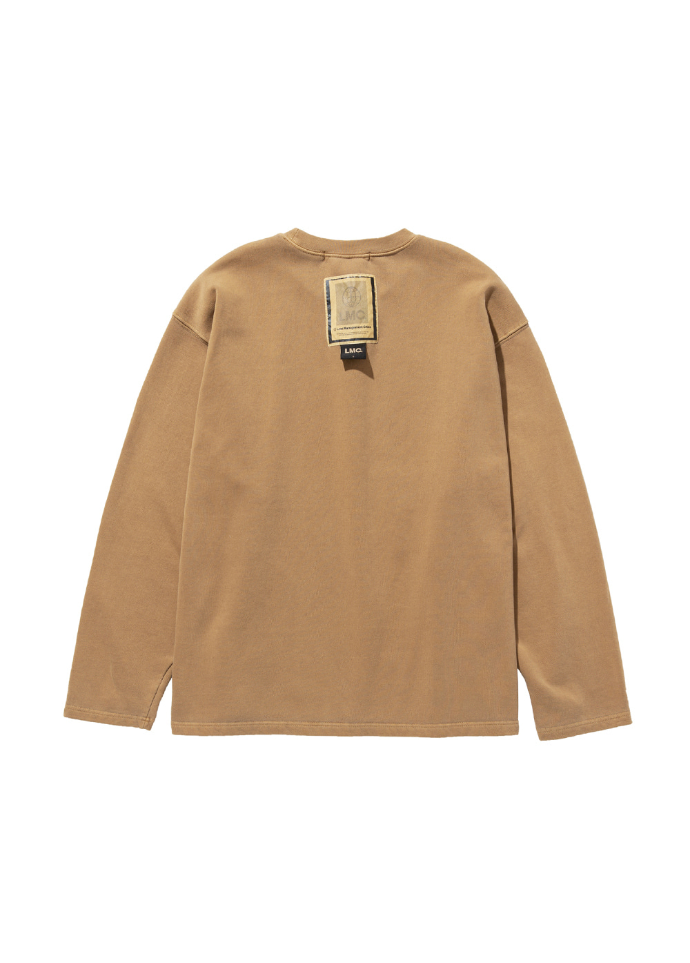 LMC LABEL OVERSIZED SWEATSHIRT dk brown