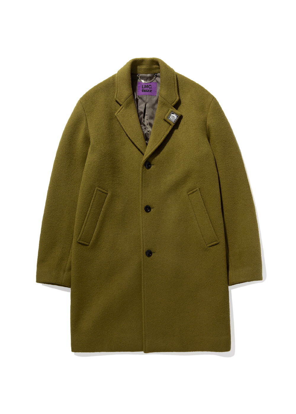 LMC x FUZZ HOUSE SINGLE COAT olive