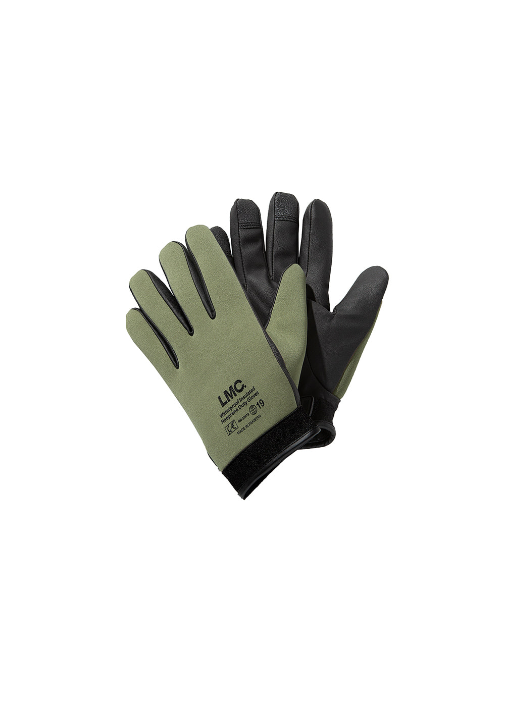 LMC NEOPRENE GLOVE REMADE BY LMC olive