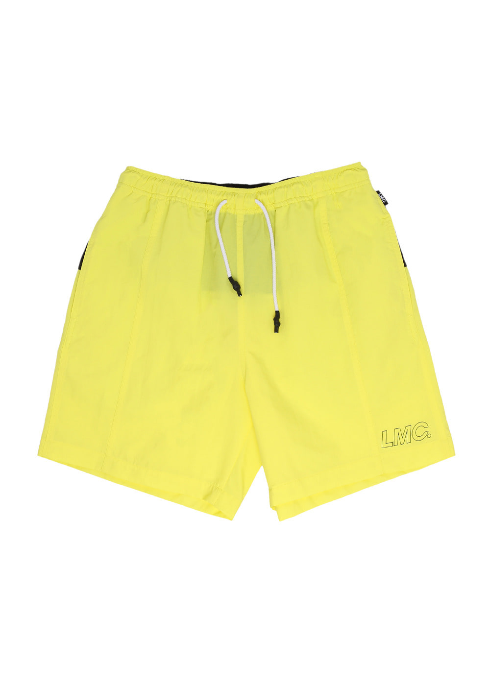 LMC FN BLOCK TEAM SHORTS lemon yellow