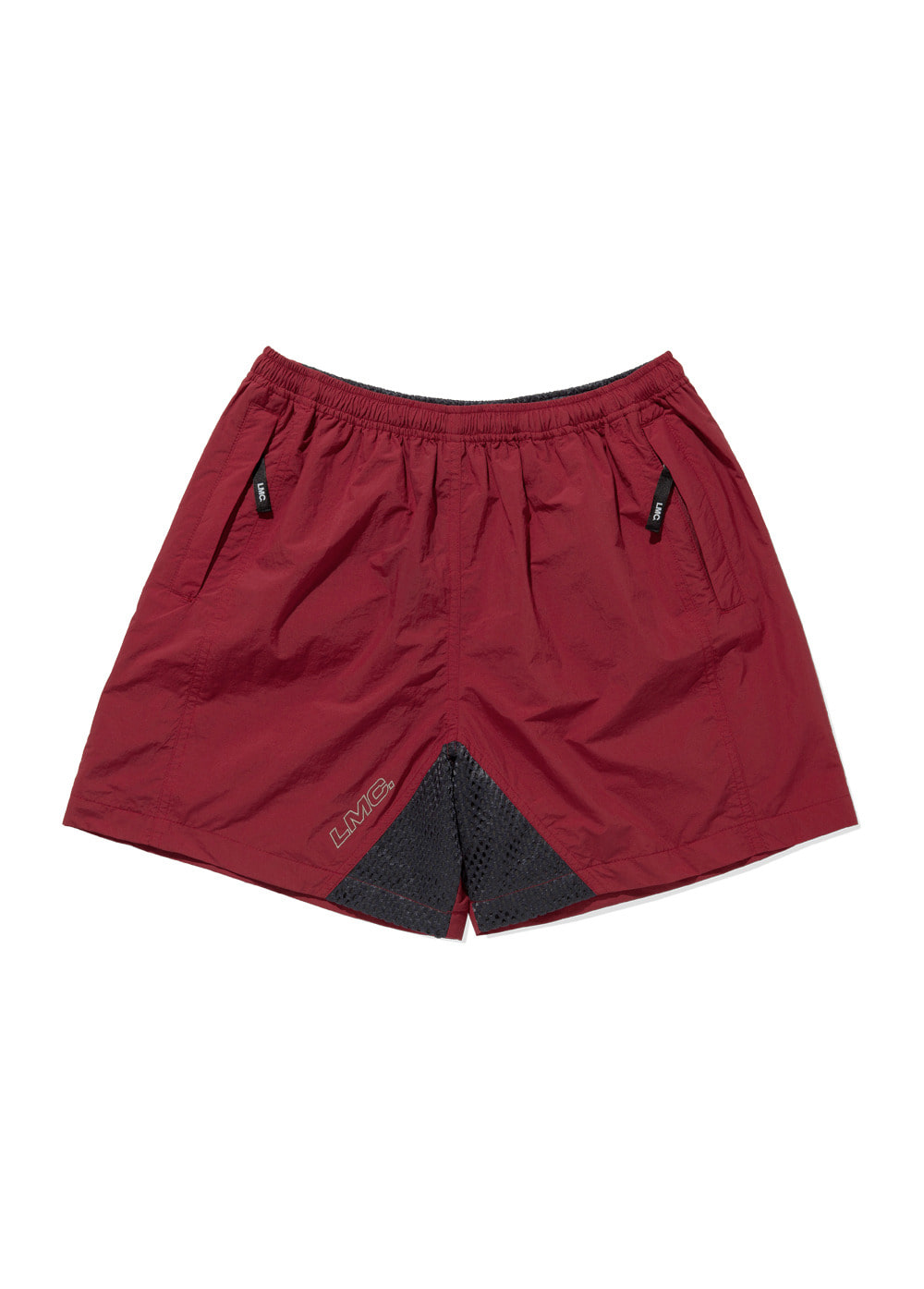 LMC MMWB TRACK SUIT SHORTS red