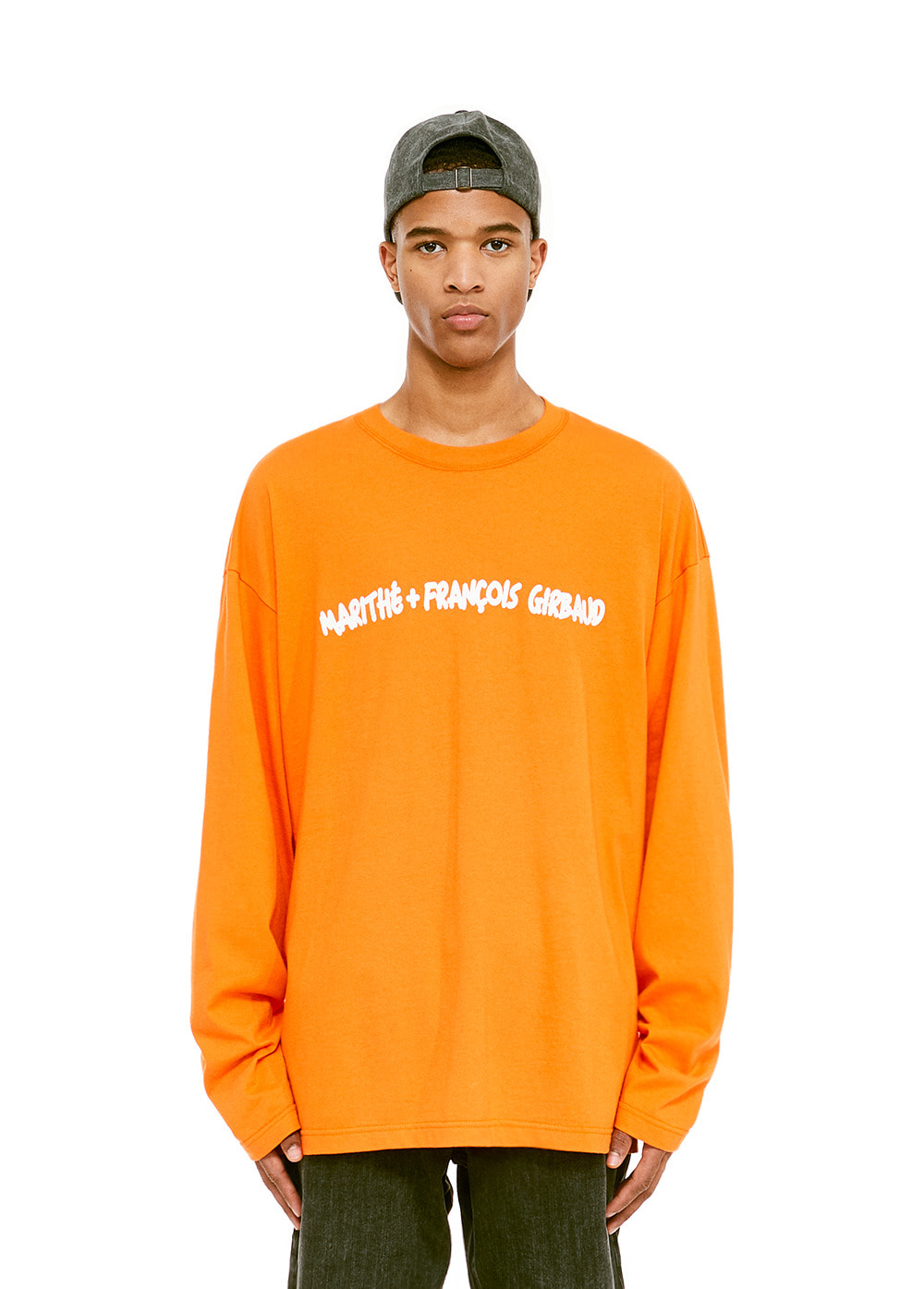 MFG MARKER L/S TEE orange