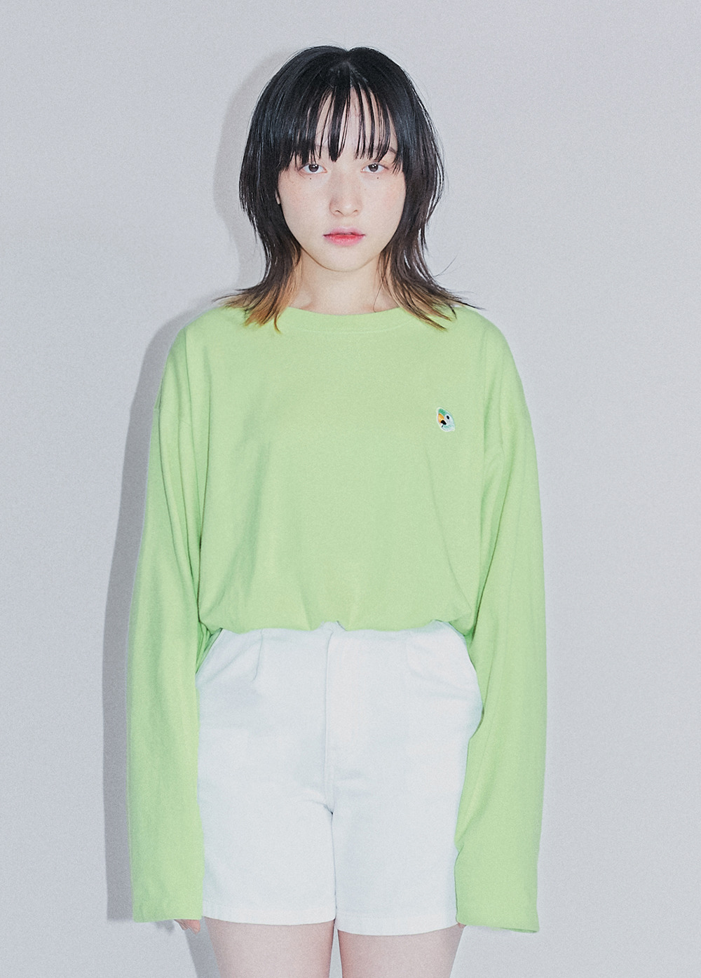 KANCO LOGO LONG SLEEVE TEE green