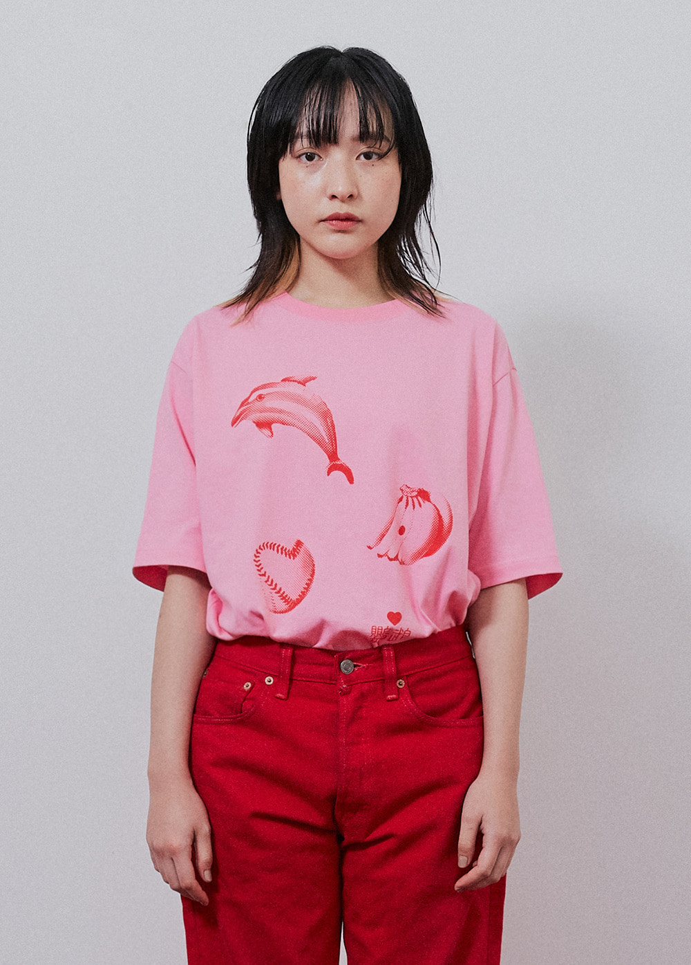 KANCO ADORABLE TEE pink