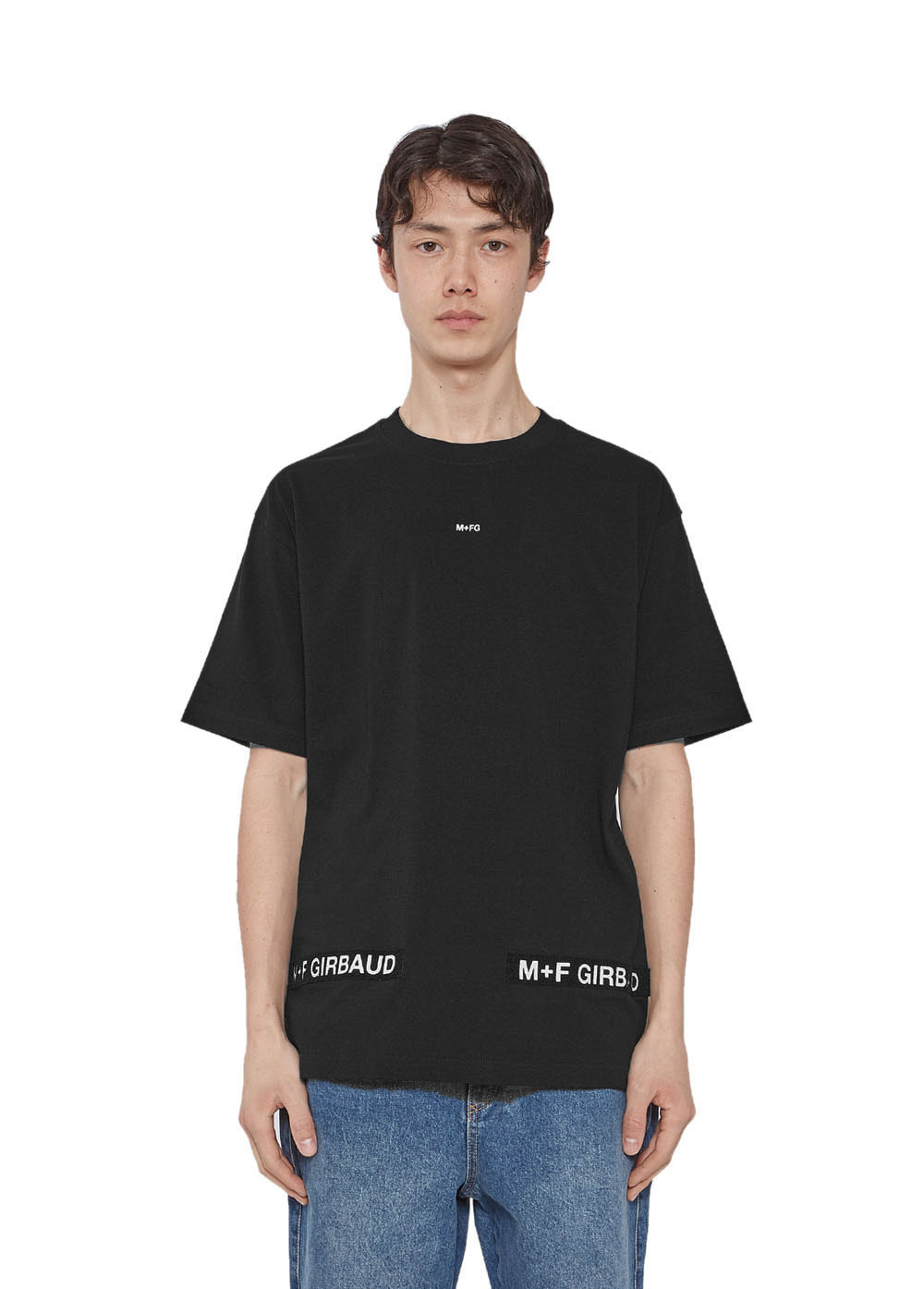 MFG SHUTTLE TAPE TEE black