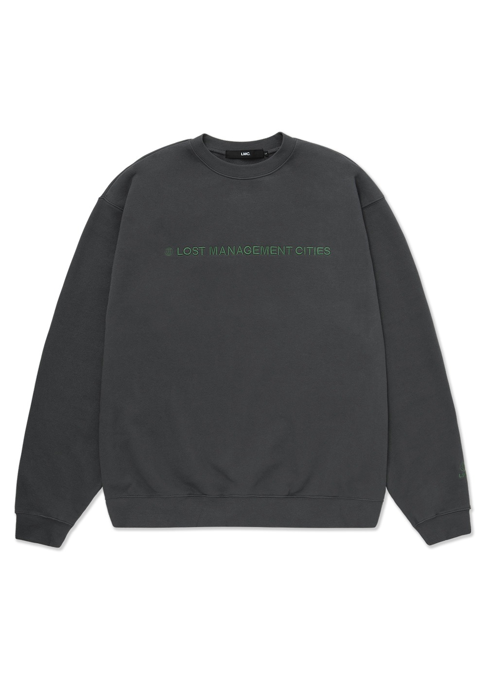 LMC CAPITAL LOGO SWEATSHIRT charcoal