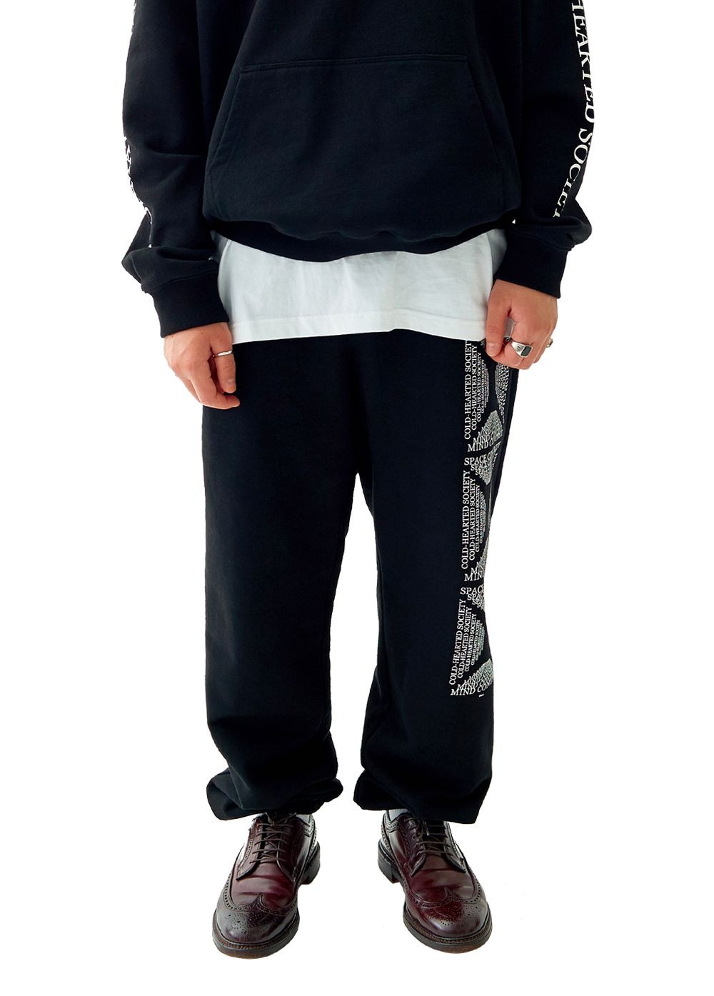 FUZZ MINDCONTROL SWEATPANTS black