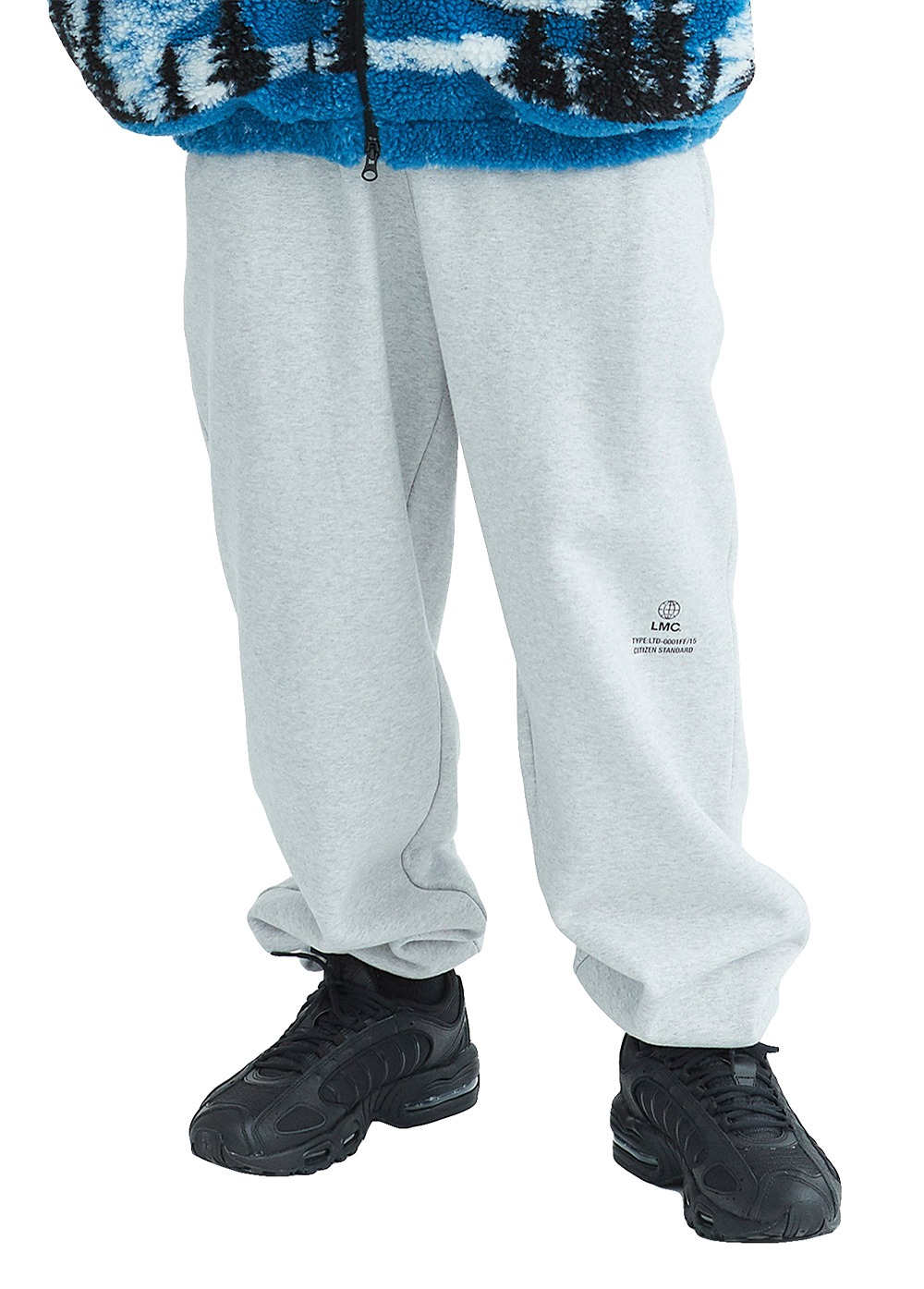 LMC SIGNATURE GLOBE SWEAT PANTS heather gray