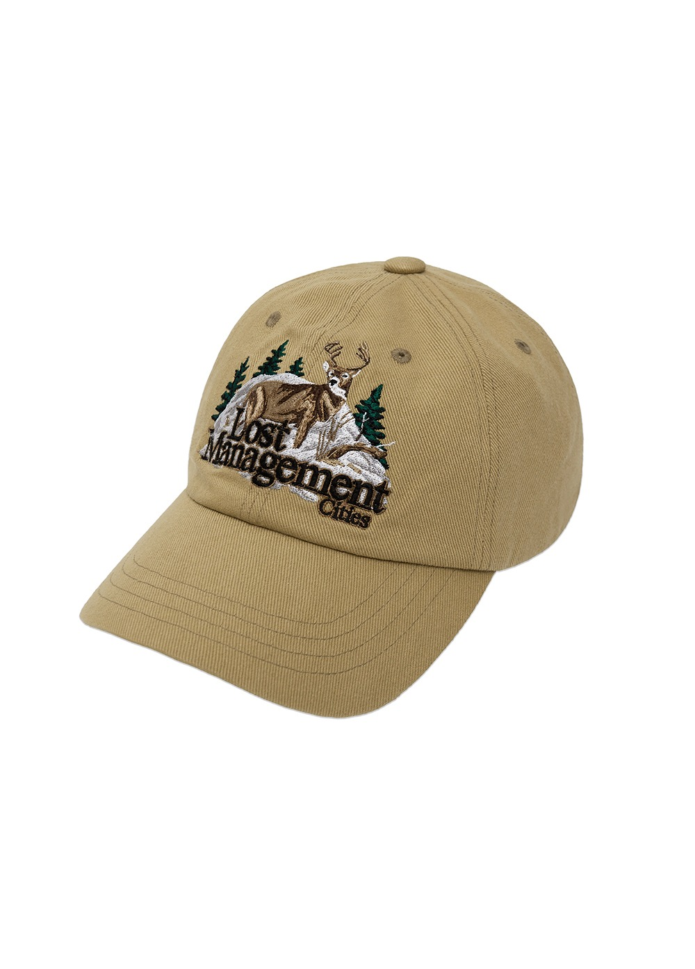LMC DEER 6 PANEL CAP beige