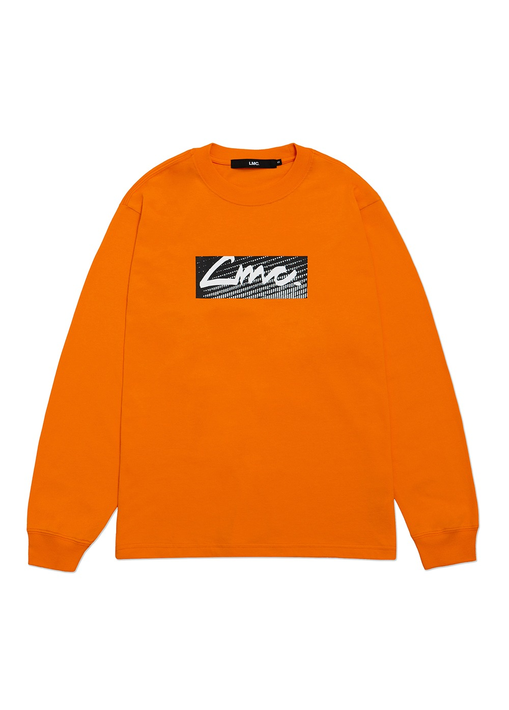 LMC D-NOISE LONG SLV TEE orange