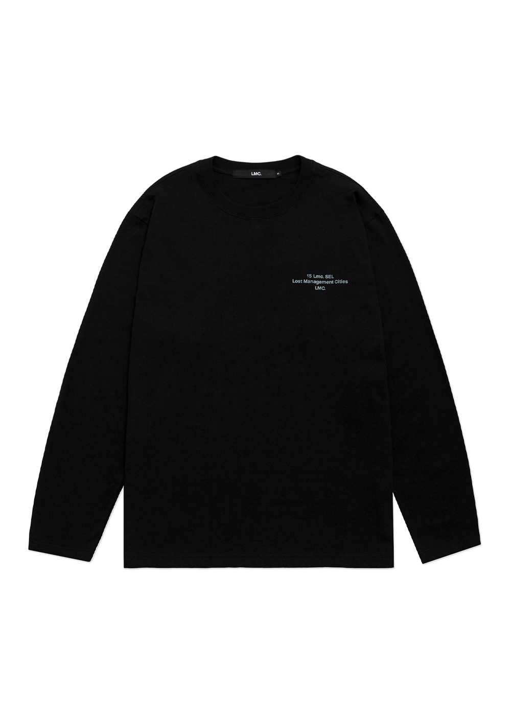 LMC 15SEL LONG SLV TEE black