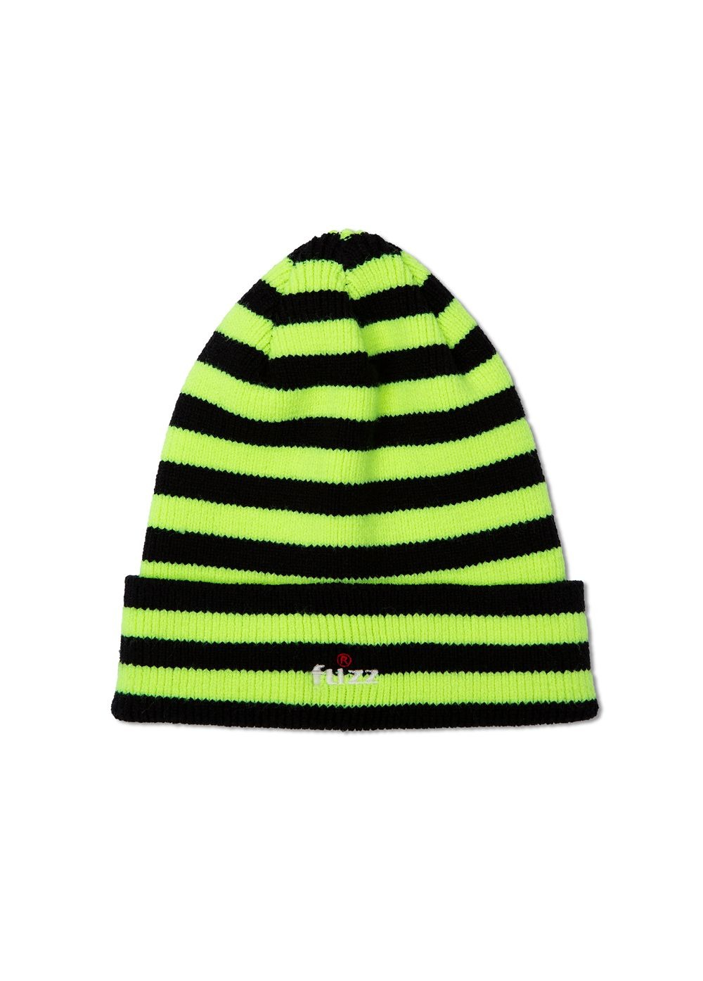 FUZZ R LOGO BEANIE yellow green
