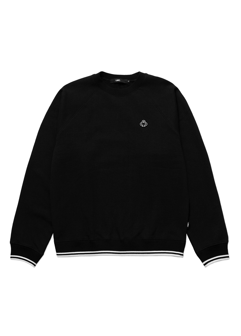 LMC CLUB BASIC RAGLAN SWEATSHIRT black