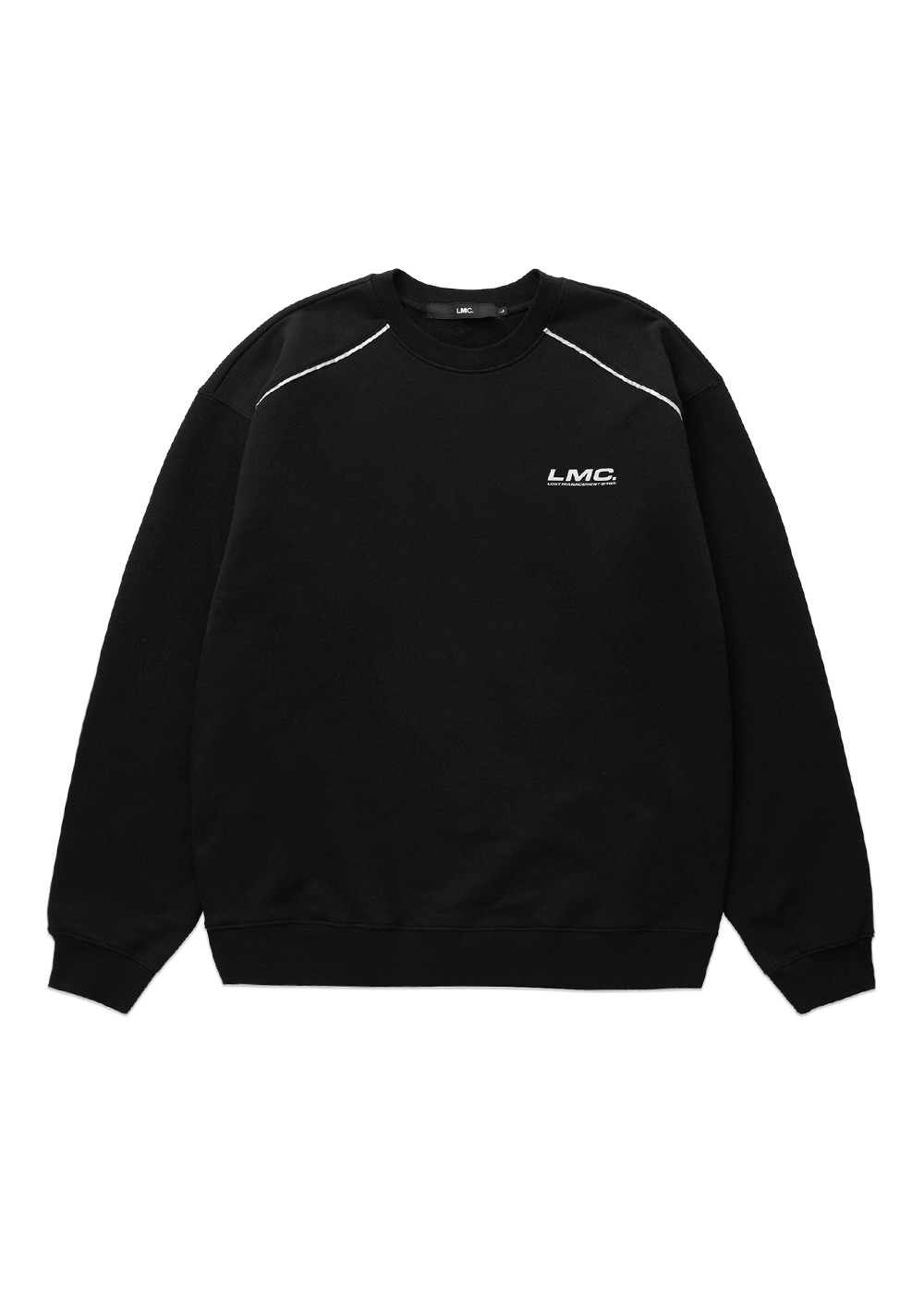LMC REFLECTIVE APPLIQUE SWEATSHIRT black