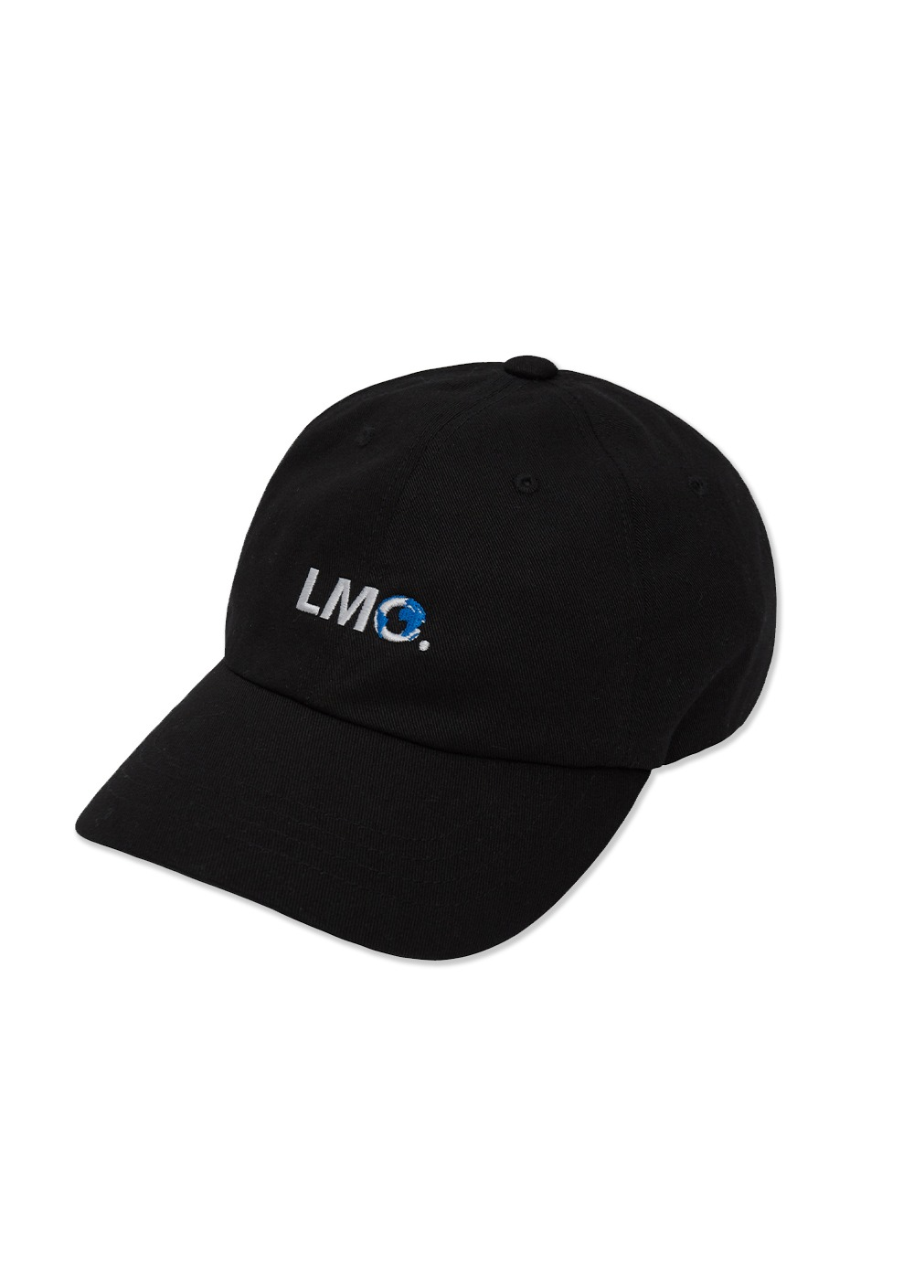 LMC EARTH LOGO 6 PANEL CAP black