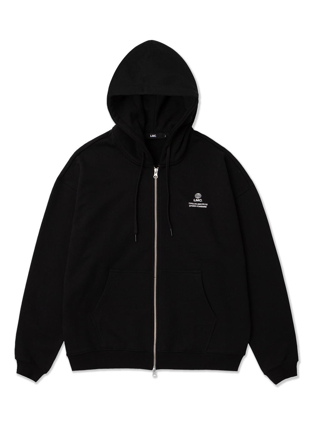 LMC SIGNATURE GLOBE ZIP-UP HOODIE black