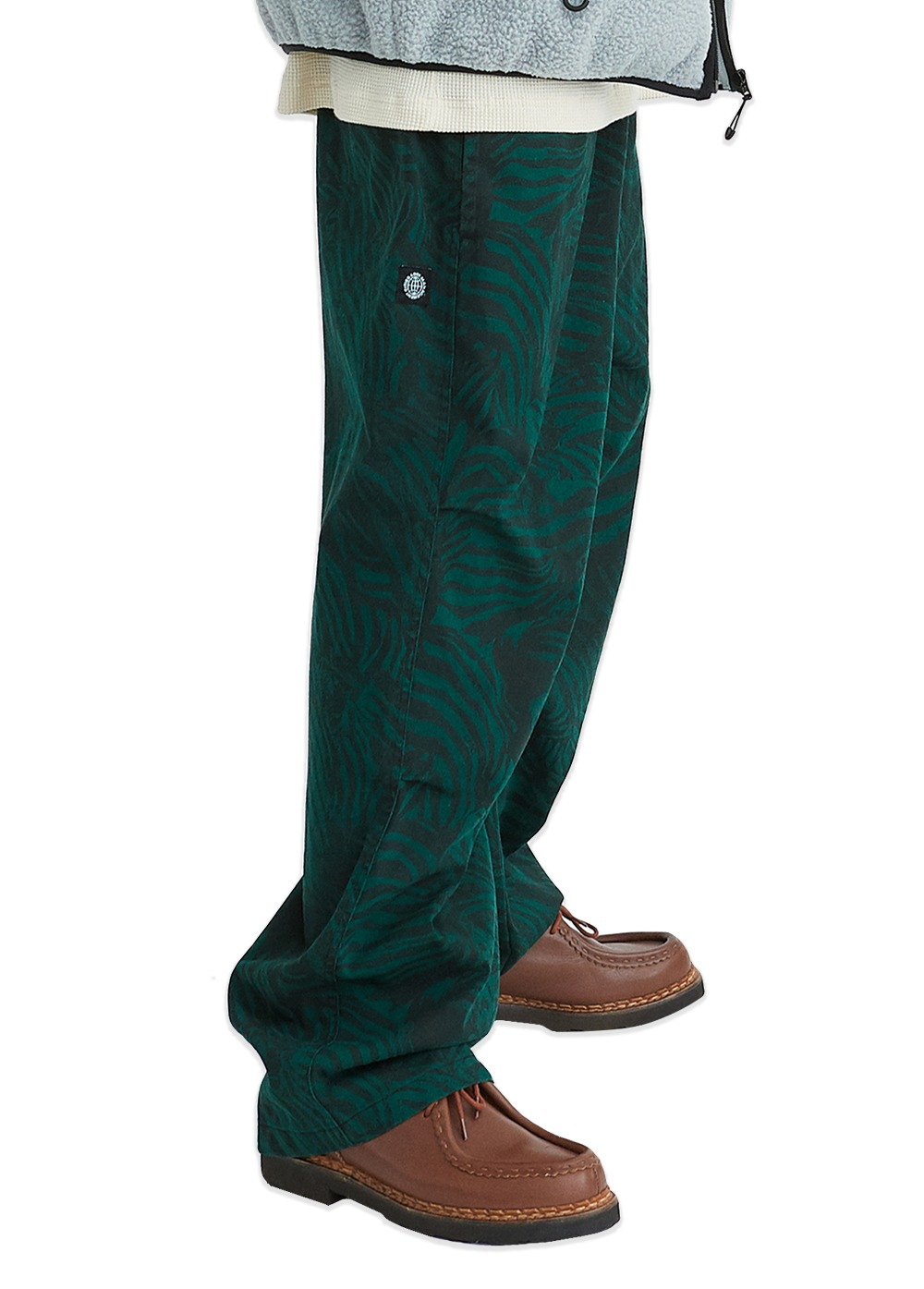 LMC ZEBRA AIRBRUSH EASY PANTS green