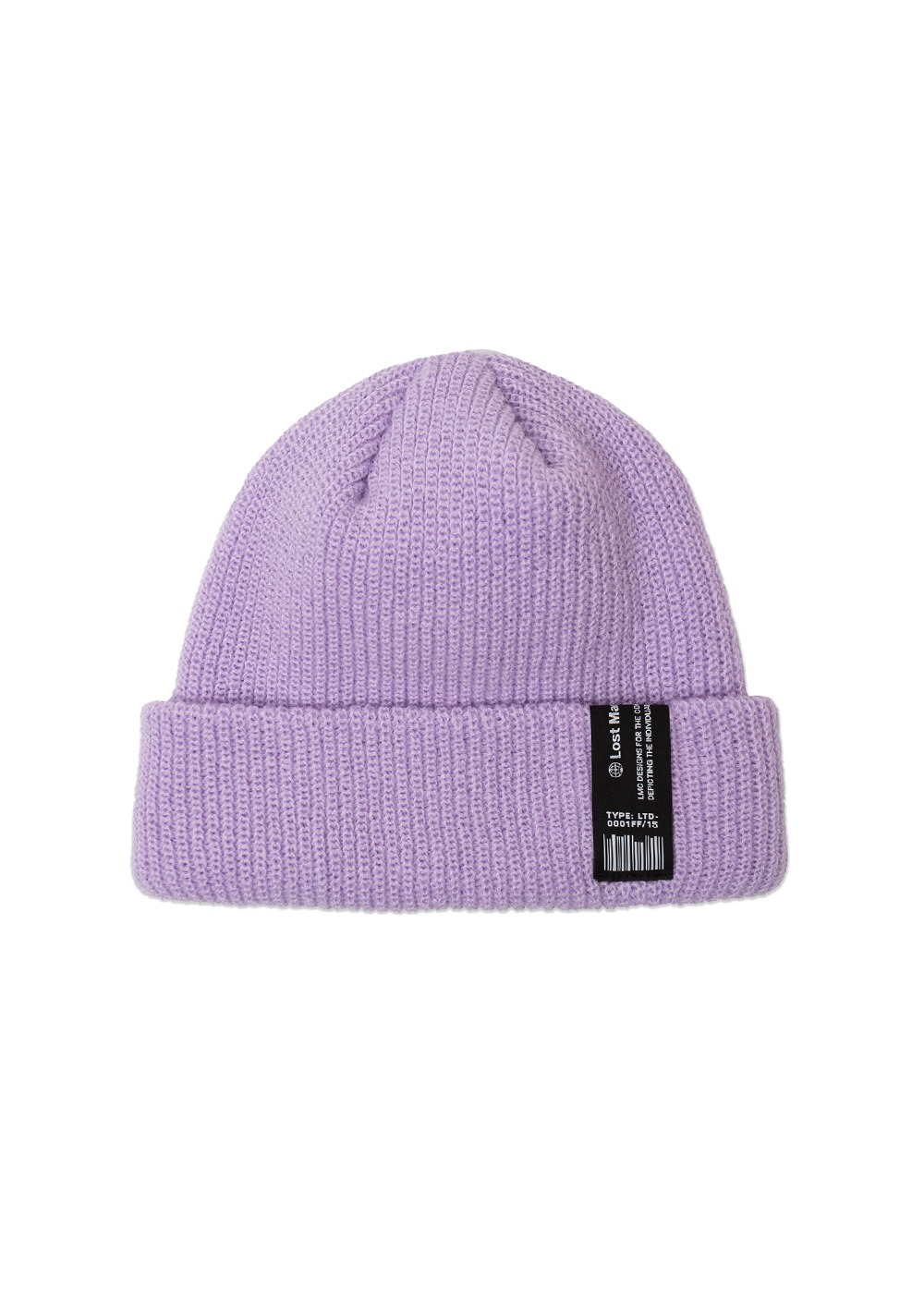 LMC LABEL SHORT BEANIE lt. purple
