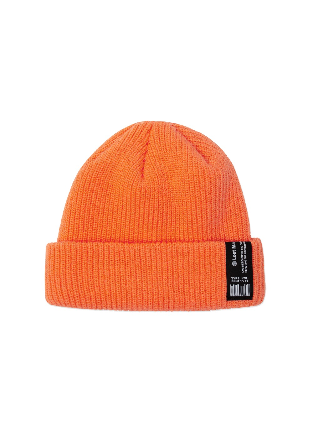 LMC LABEL SHORT BEANIE orange
