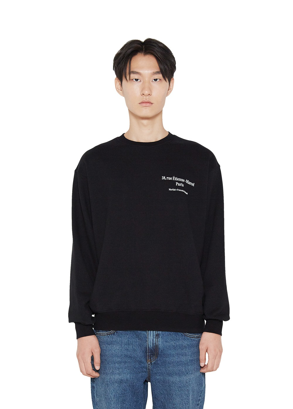 MFG L ADRESSE SWEATSHIRT black