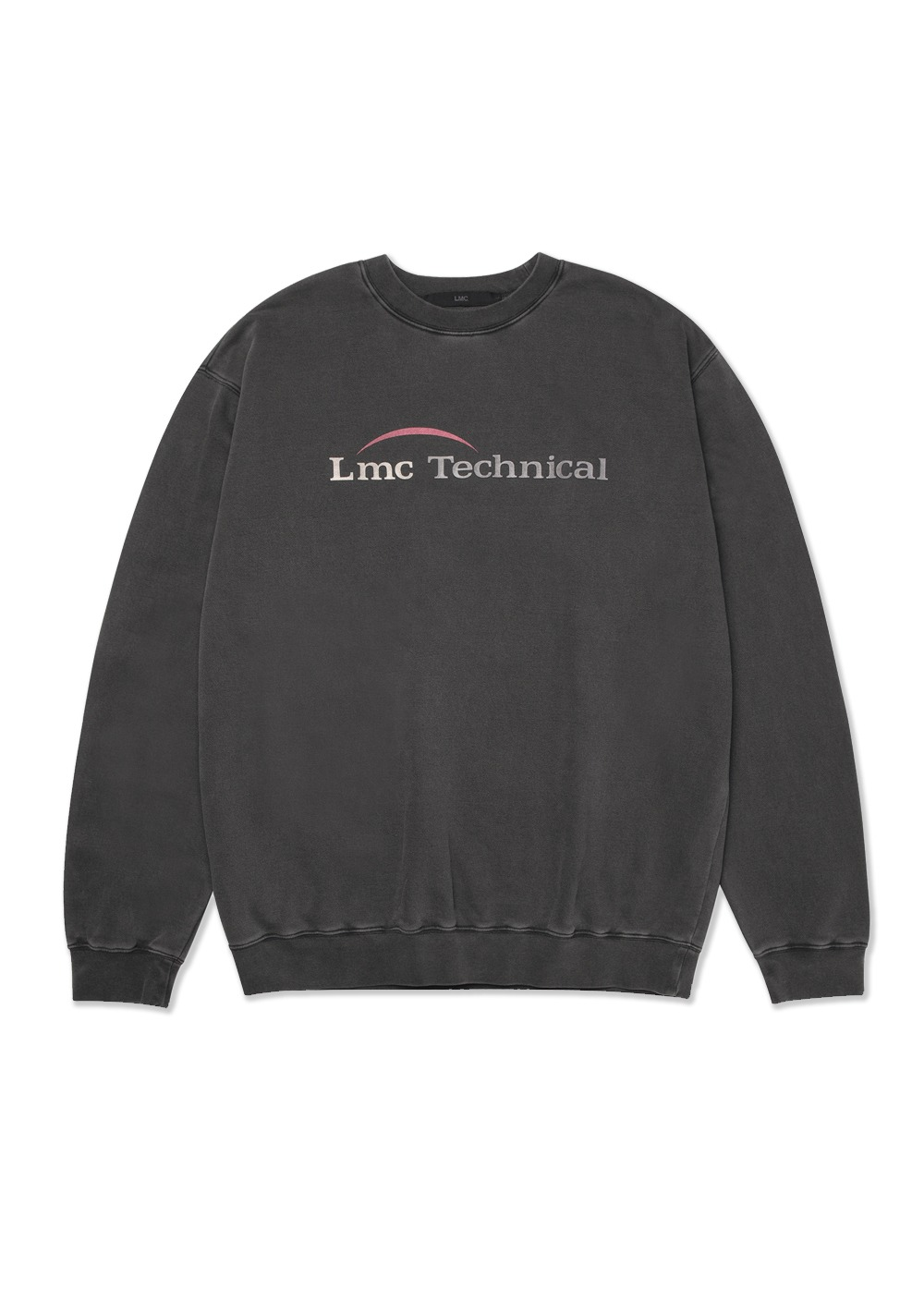 LMC OVERDYED TECHNICAL SWEATSHIRT charcoal