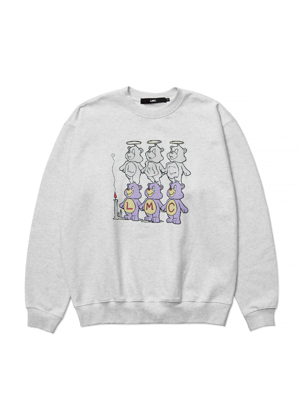 LMC THREE BEARS SWEATSHIRT lt. heather gray