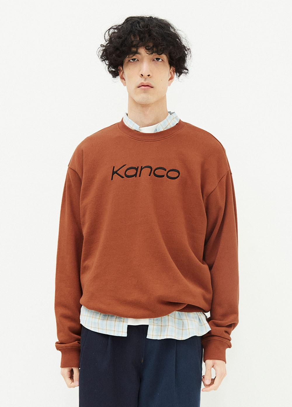KANCO SERIF SWEATSHIRT brown