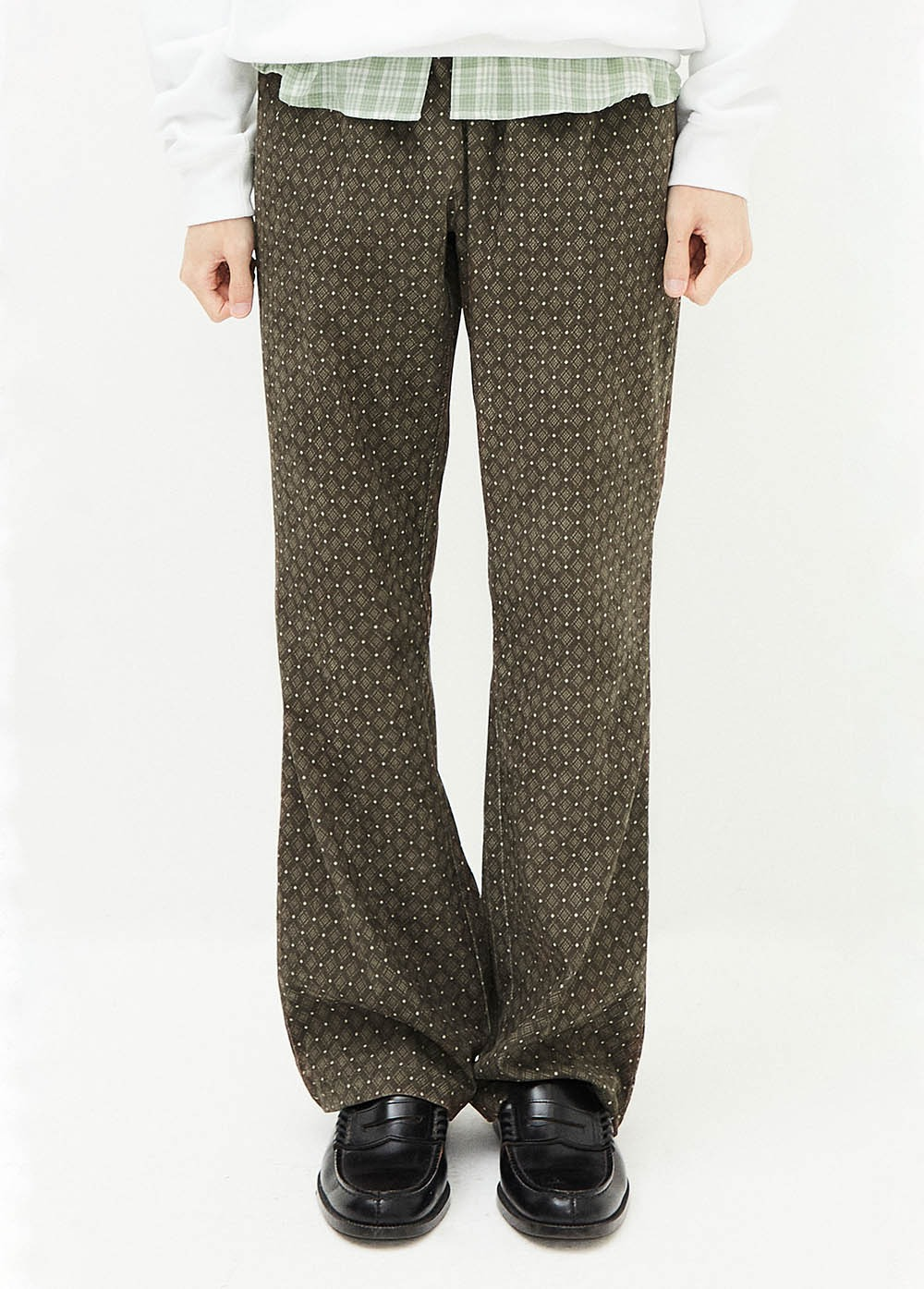 KANCO BELL PANTS brown