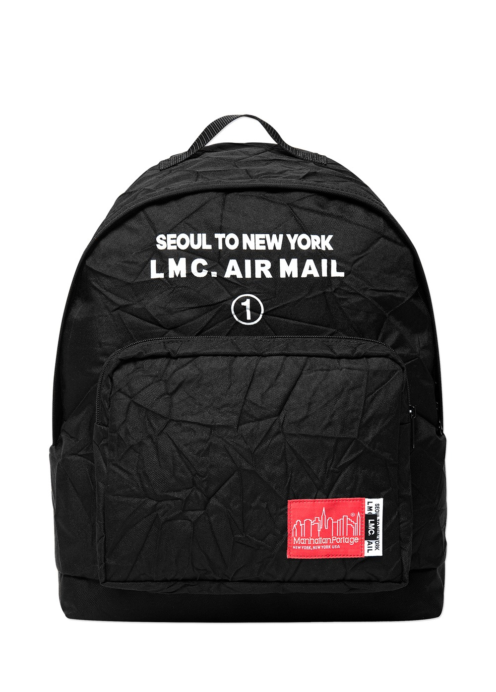 LMC X MANHATTAN PORTAGE BIG APPLE BACKPACK (LG) black
