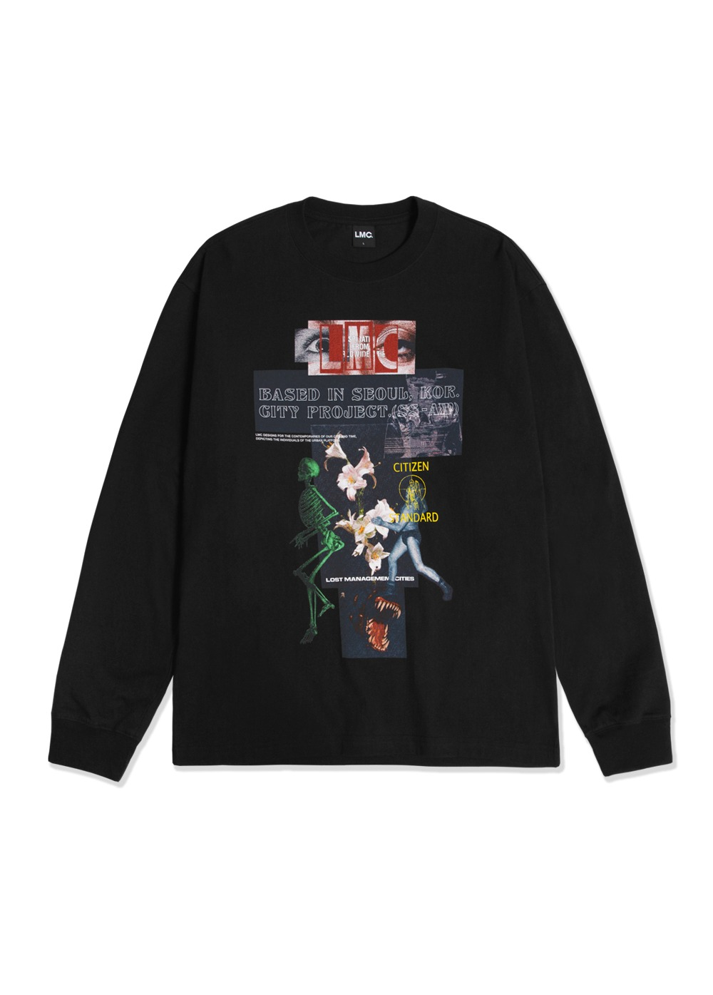 LMC ZT V2 LONG SLV TEE black