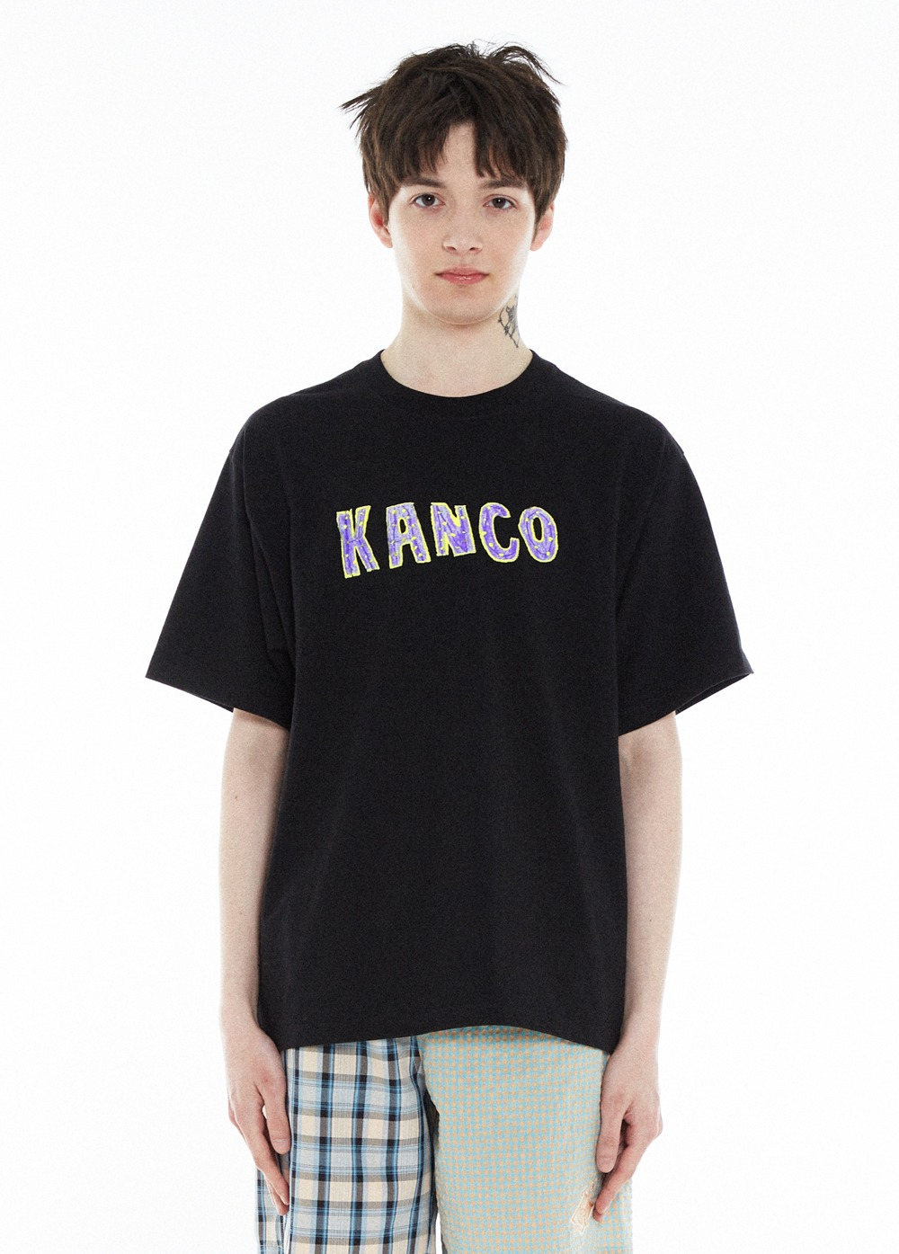 KANCO TYPO TEE black